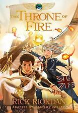 The Kane Chronicles: The Throne of Fire by Orpheus Collar and Rick Riordan...