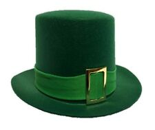 Green Adult Top Hat St. Patrick's Day Leprechaun Halloween Costume Accessory