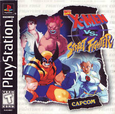 X-Men Vs Street Fighter - PS1 PS2 Playstation Game