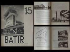 BATIR N°15 1934 GARES, VICTOR BOURGEOIS,