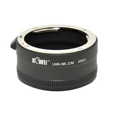 Kiwi Camera Mount Adapter - for Nikon F to Canon M