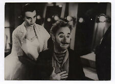 PHOTO KEYSTONE Charlie Chaplin Claire Bloom Les feux de la rampe Limelight Clown