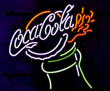 "COCA COLA COKE PUB DISPLAY STORE BEER BAR REAL NEON LIGHT SIGN GIFT 17""X14"""