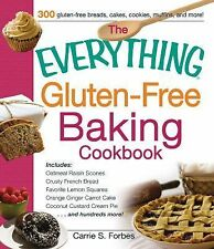 The Everything Gluten-Free Baking Cookbook: Includes Oatmeal Raisin Scones, Crus