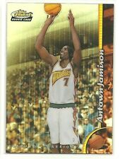 98 99 Topps Finest Antawn Jamison Rookie Card RC No Protector Refractor BV $30