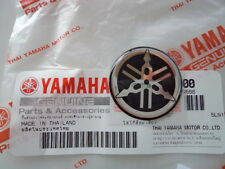 2 x Yamaha Tuning Fork Sticker Decal YZF R1 R6 YZ FZ1 FZ6 30MM *GENUINE YAMAHA*