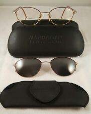 Manhattan Design Studio Eyeglasses w/Magnetic Clip-on's and case