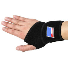 Pro Thumb Stabilizer Wrist Brace Support Gym Power Weight Lifting Training Wrap