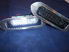 Brand New Mazda MX-5 mk1,mk2,& 2.5 XTC, St/ Steel  LED Bumper Side Light Kit