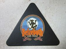 Beer Collectible Coaster: Belzebuth Pure Malt ~ Brasserie Grain d' Orge, France