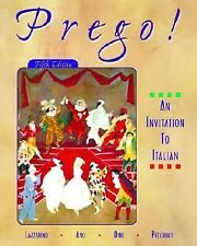 Prego! An Invitation to Italian (Student Edition + Listening Comprehension Audio