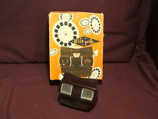 ViewMaster 1950s Sawyer's Gift Pak Viewer with 5 Reels and Box