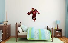 Iron Man Superheroe Marvel Wall Decal Decor For Kids Childs Car Home X-Large