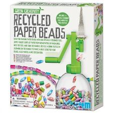 4M Green Creativity Recycled Paper Beads Ages 5+ Jewelry Activity