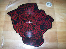 RARE Mike & the Mechanics ENGINE SHAPED 45 PICTURE DISC NEAR MINT FREE US SHIP