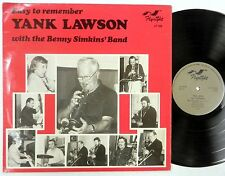 YANK LAWSON Easy to Remember FLYRIGHT 1980 LP Jazz VG++ Excellent BENNY SIMKINS