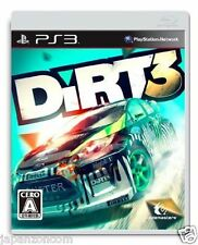 Used PS3 Dirt 3  PLAYSTATION 3 SONY JAPAN JAPANESE IMPORT