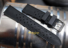 20mm TROPIC Style Swiss Tropical Vintage for Seik Watch Strap Rubber Diver Band