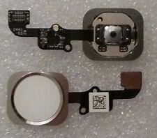 Home Homebutton + Flex Kabel Finger Abdruck Touch ID Sensor Weiss iphone 6 6G