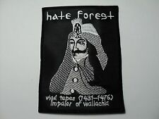 HATE FOREST VLAD TEPES   EMBROIDERED PATCH