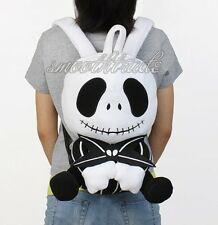 "The Nightmare Before Christmas 15-16"" Plush Backpack Jack Skellington Doll Bag"