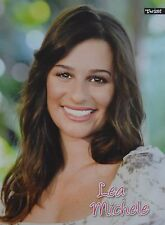 LEA MICHELE - A4 Poster (ca. 21 x 28 cm) - Glee Clippings Fan Sammlung NEU