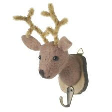 Felt Stag Deer Animal Hook, Children's Coat Hook