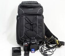 Nikon D5100 DSLR Camera body With Everything Shown LOW SHUTTER COUNT