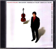 Jan Vogler: Strauss Don Quixote Cello Sonata Romance CD Fabio Luisi Louis Lortie