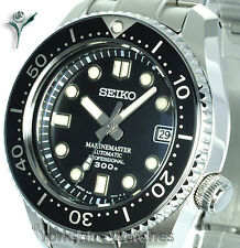 New SEIKO MM300 MARINEMASTER AUTO PRO DIVERS WITH STEEL & RUBBER STRAPS SBDX017