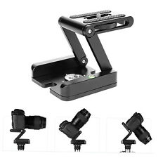 Folding Z Type Stand Holder Professional Tripod Kit Flex Tilt Head Pan F5