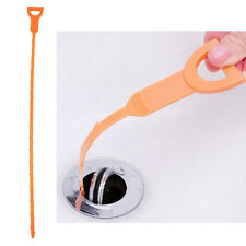 Snake Drain Sink Cleaner Removes Clogged Hairs Bathroom Shower Kitchen Tools VA