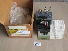 NEW IN BOX ALLEN BRADLEY 202AC-C0H92 DC CONTACTOR SIZE 2 SERIES K 2 POLE 250VDC