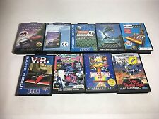 Locale Mega Drive 9 Giochi in scatola-Bundle/JOB LOT!!!