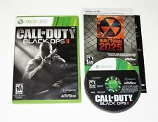 Call Of Duty Black Ops II Microsoft Xbox 360 Game Complete Activision 2012
