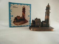 LIGHTHOUSE DIECAST PENCIL SHARPENER New Antique Finish Novelty