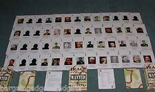 IRAQS IRAQI MOST WANTED PLAYING CARDS SADDAM HUSSEIN AMERICAN ARMY HISTORY GIFT