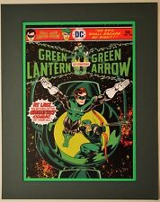 GREEN LANTERN #90 COVER PRINT PROFESSIONALLY MATTED DC Green Arrow
