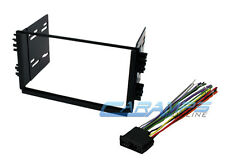 DOUBLE 2 DIN COMPLETE CAR STEREO INSTALLATION KIT WITH DASH & WIRING HARNESS