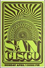SAN CISCO Gig POSTER April 2013 Portland Oregon Concert