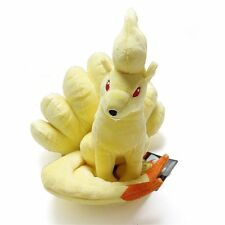 Pokemon Plush Toys Nine Tails Ninetales Stuffed Animals Soft Plush Fox Doll US