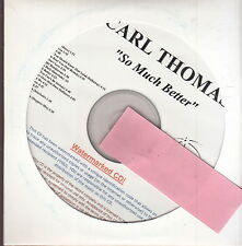 carl thomas so much better cd limited edition