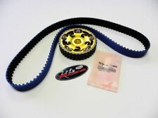 VMS 88-91 HONDA CIVIC CRX D16 GATES TIMING BELT & ADJUSTABLE CAM GEAR GOLD KIT