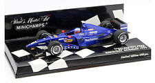 Minichamps Prost AP02 1st F1 Test Barcelona 1999 - Jenson Button 1/43 Scale