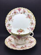 Antique Victorian Tea Trio by Bridgwood China No.3238