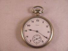 Antique Vintage Pocket Watch Elgin National Watch Co 23995229 Estate Fresh