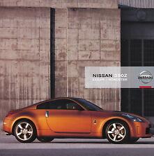 Prospekt Nissan 350Z 2005 Autoprospekt Auto Pkw 11 05 brochure Sportwagen Japan