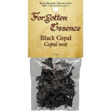 Black Copal All Natural Resin Incense 1oz Wiccan Pagan Metaphysical
