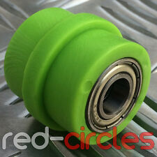 10mm RIDGED GREEN PIT DIRT BIKE DRIVE CHAIN ROLLER GUIDE 140cc 160cc PITBIKE