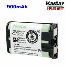 1xKastar Cordless Phone Battery NI-MH 3.6V 900mAh For Panasonic HHR-P107 Type 35